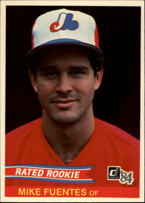 1984 Donruss #40 Mike Fuentes RC