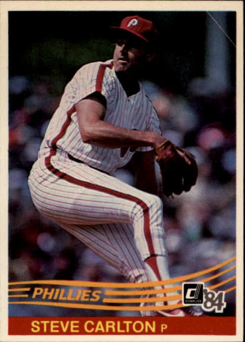 1984 Donruss #111 Steve Carlton