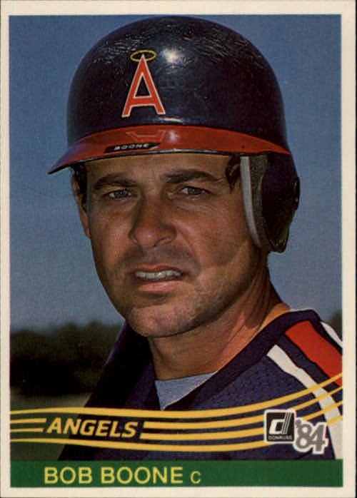 1984 Donruss #158 Bob Boone