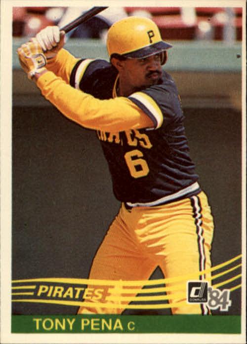 1984 Donruss #186 Tony Pena