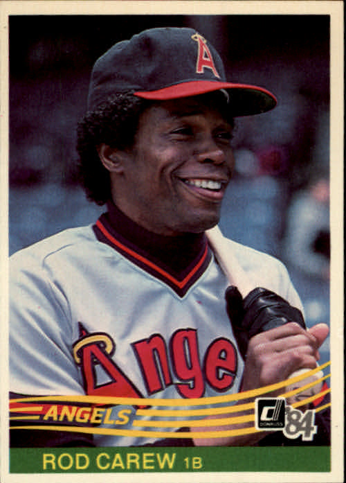 1984 Donruss #352 Rod Carew