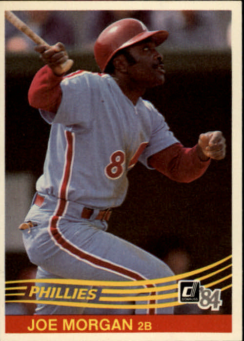 1984 Donruss #355 Joe Morgan