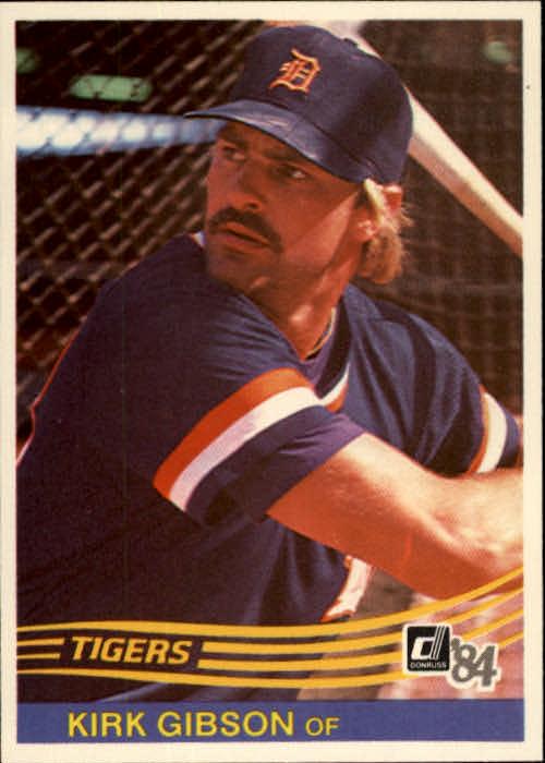 Details About 1984 Donruss Baseball Card 593 Kirk Gibson
