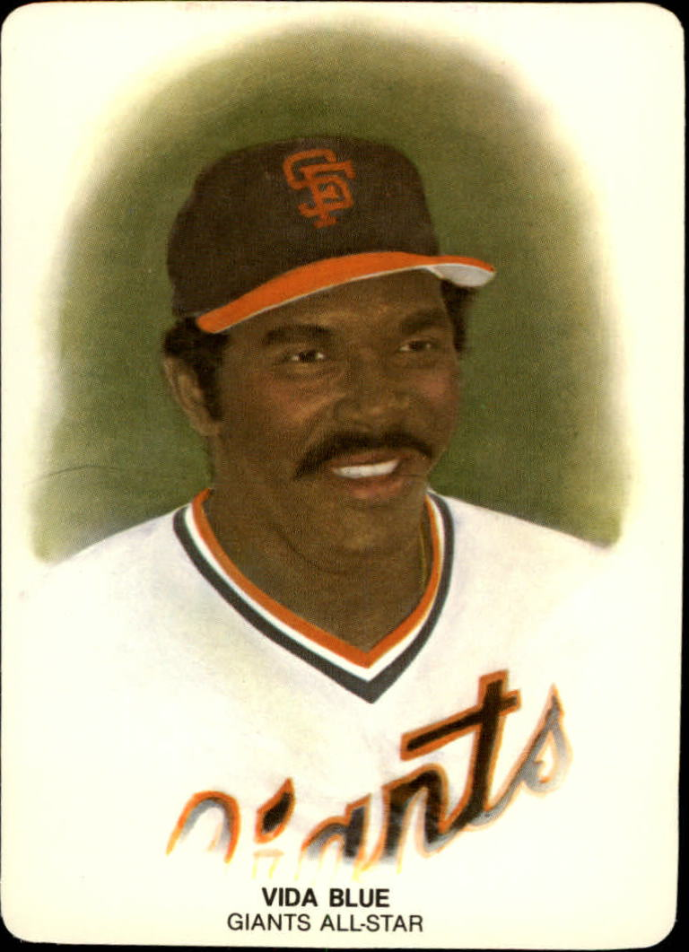 1984 Giants Mother's #25 Vida Blue