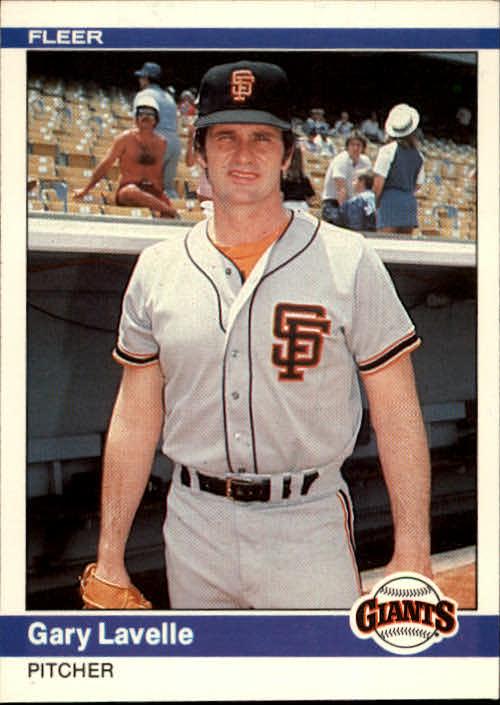 1984 Fleer #377 Gary Lavelle