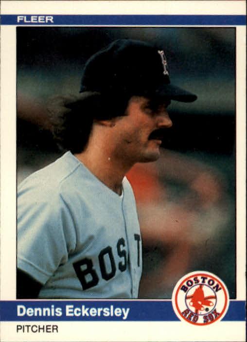 1984 Fleer #396 Dennis Eckersley