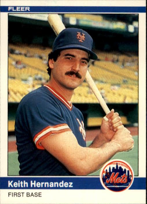 1984 Fleer #587 Keith Hernandez