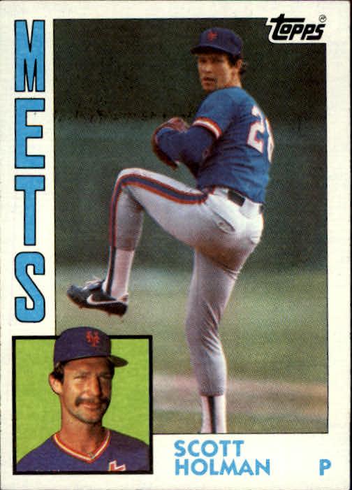 1984 Topps #13 Scott Holman