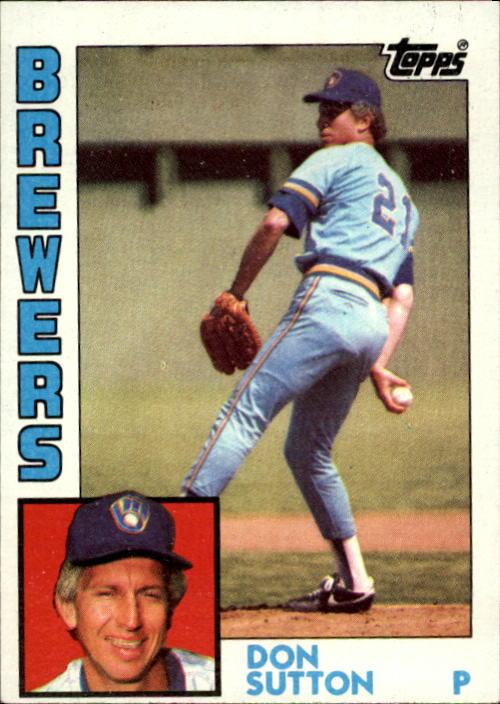 1984 Topps #35 Don Sutton