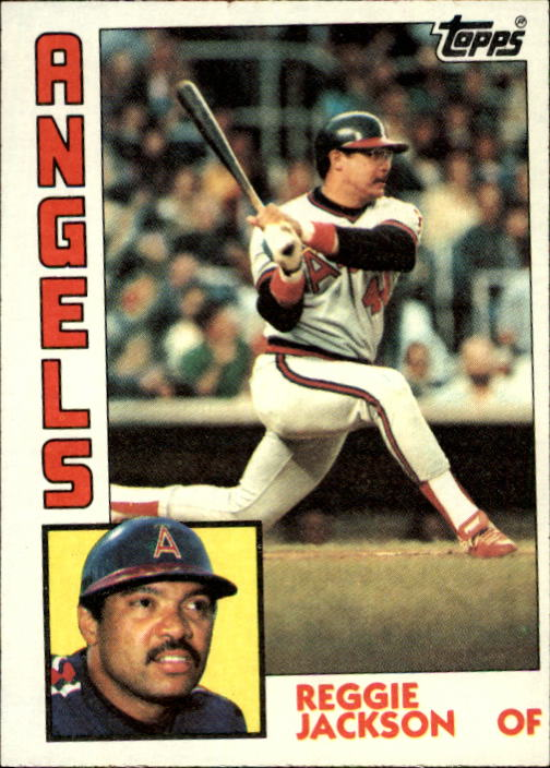 1984 Topps #100 Reggie Jackson