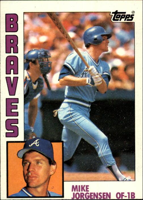 1984 Topps #313 Mike Jorgensen