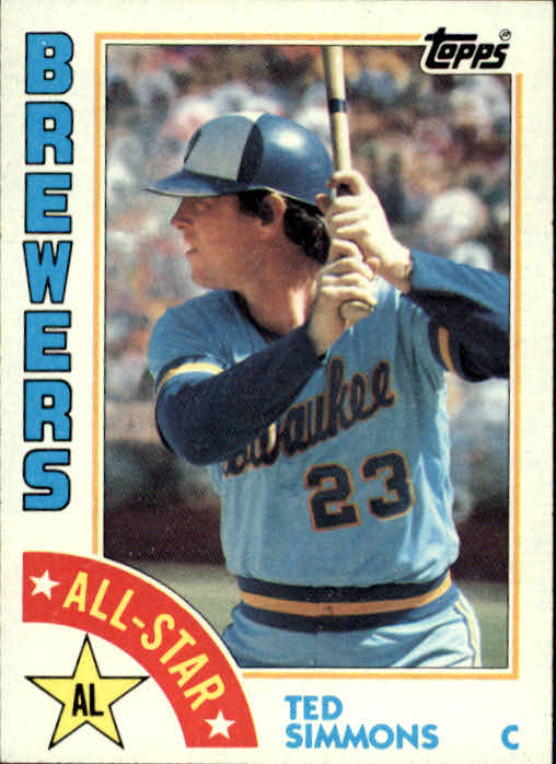 1984 Topps #404 Ted Simmons AS