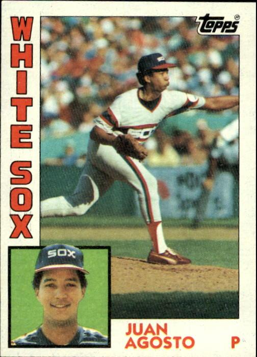 1984 Topps #409 Juan Agosto
