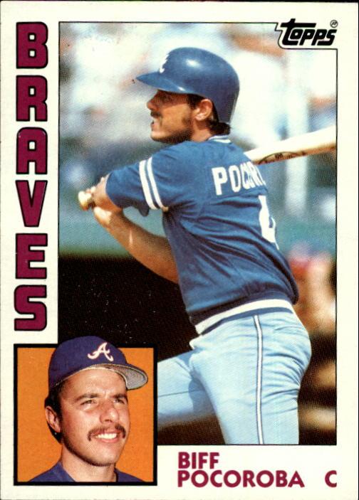 1984 Topps #438 Biff Pocoroba