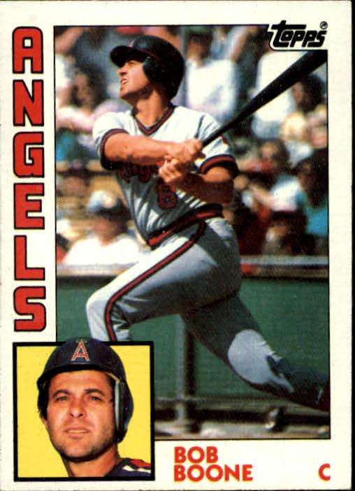 1984 Topps #520 Bob Boone