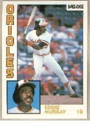 1984 O-Pee-Chee #240 Eddie Murray