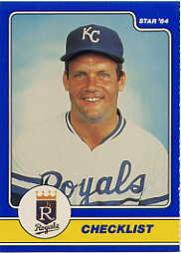 1984 Star Brett #1 George Brett CL