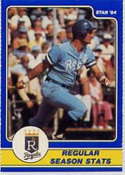1984 Star Brett #2 George Brett/Regular Season Stats