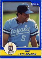 1984 Star Brett #8 George Brett/The 1976 Season