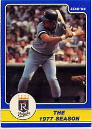 1984 Star Brett #9 George Brett/The 1977 Season