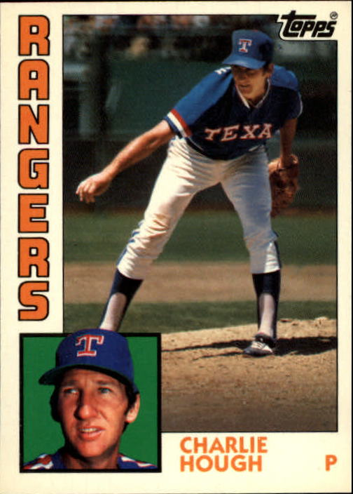 1984 Topps Tiffany #118 Charlie Hough