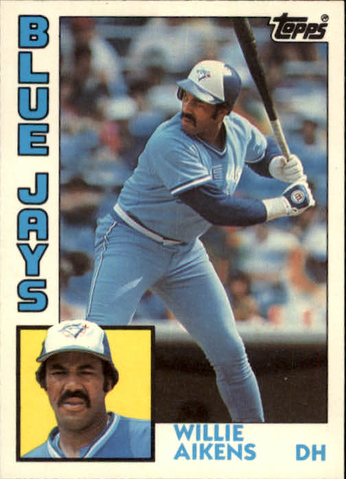 1984 Topps Traded #1T Willie Aikens
