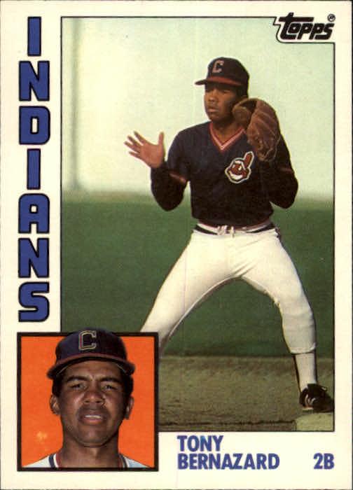 1984 Topps Traded #12T Tony Bernazard