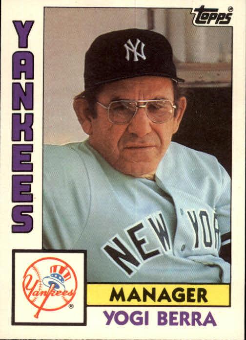 1984 Topps Traded #13T Yogi Berra MG