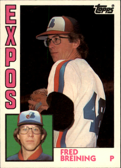 1984 Topps Traded #16T Fred Breining
