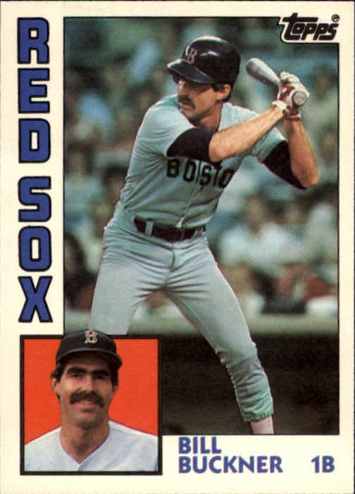 1984 Topps Traded #17T Bill Buckner