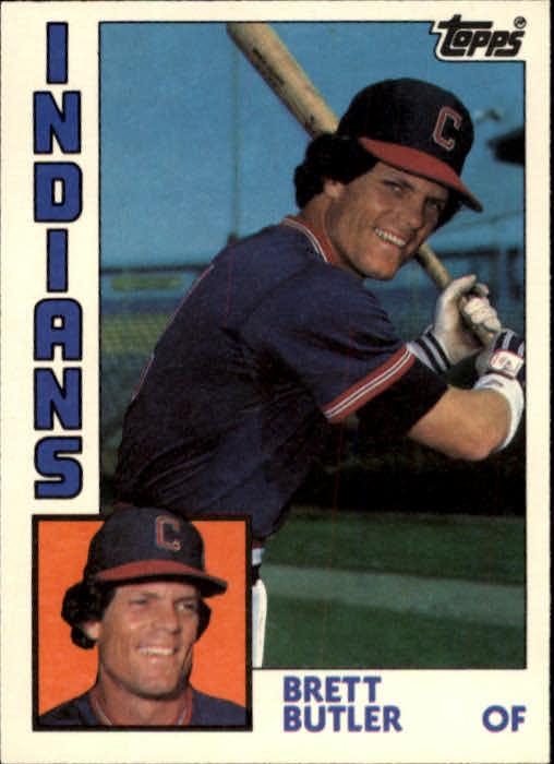 1984 Topps Traded #20T Brett Butler