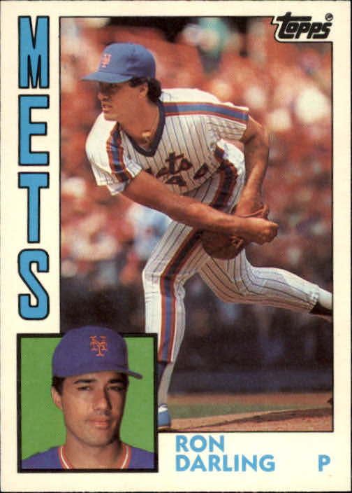 1984 Topps Traded #27T Ron Darling XRC