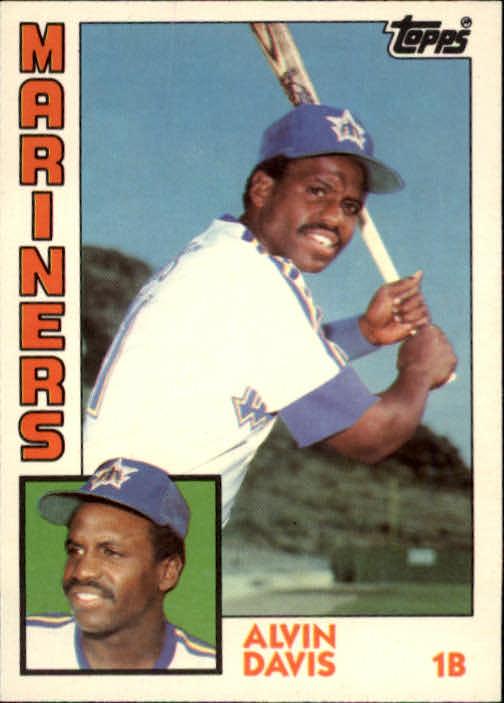 1984 Topps Traded #28T Alvin Davis XRC