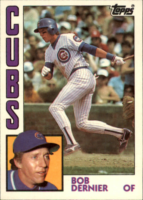 1984 Topps Traded #31T Bob Dernier