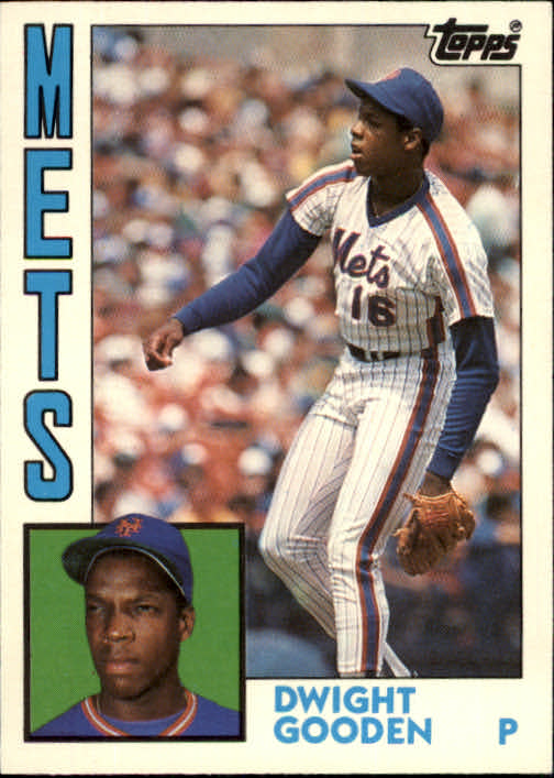1984 Topps Traded #42T Dwight Gooden XRC