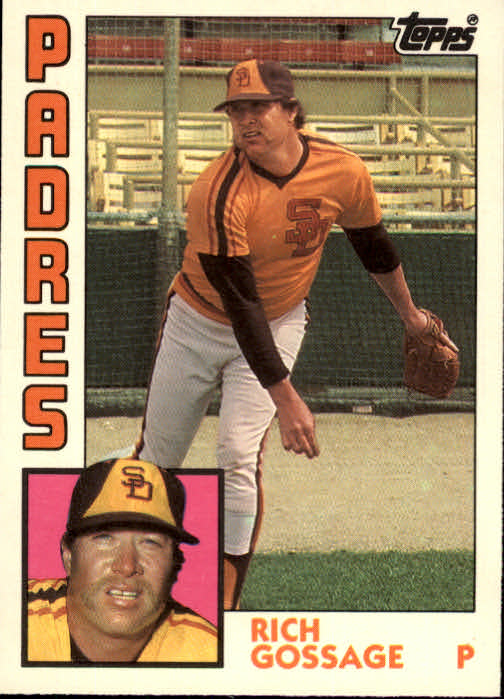 1984 Topps Traded #43T Rich Gossage
