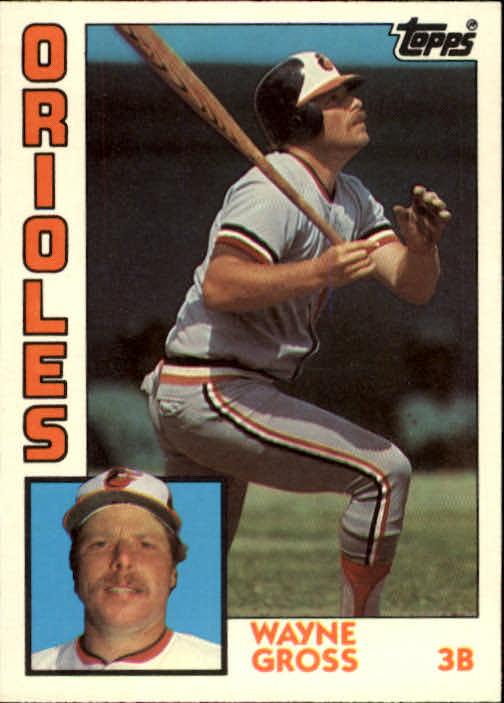 1984 Topps Traded #44T Wayne Gross
