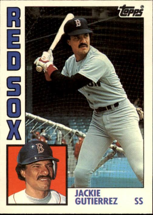 1984 Topps Traded #46T Jackie Gutierrez XRC