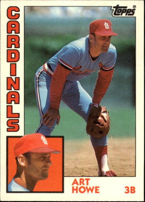 1984 Topps Traded #53T Art Howe
