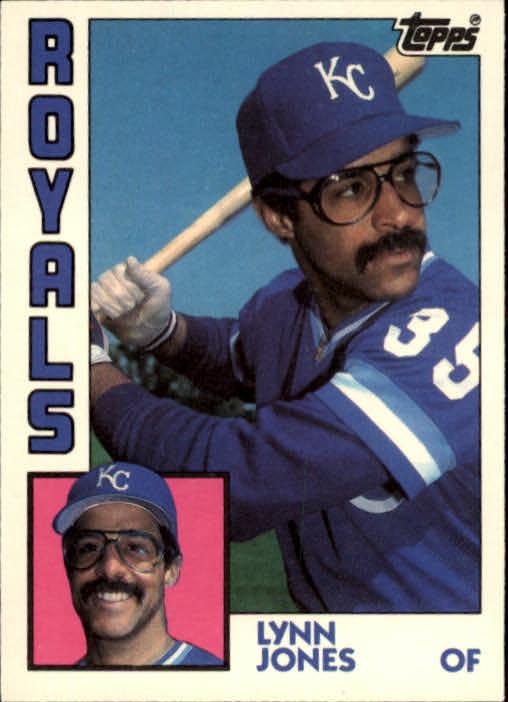 1984 Topps Traded #58T Lynn Jones