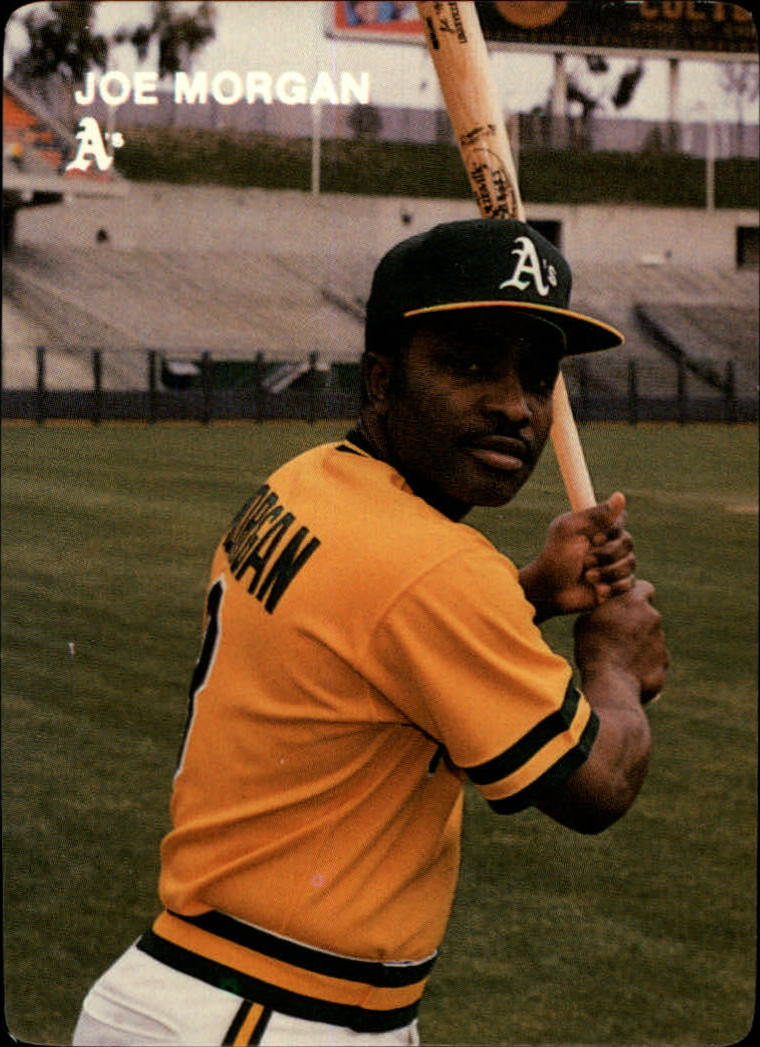 1984 A's Mother's #3 Joe Morgan