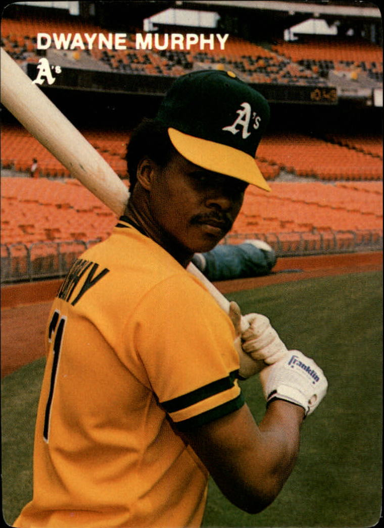 1984 A's Mother's #4 Dwayne Murphy