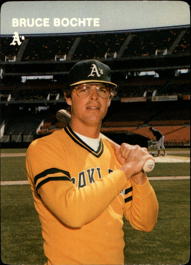 1984 A's Mother's #6 Bruce Bochte