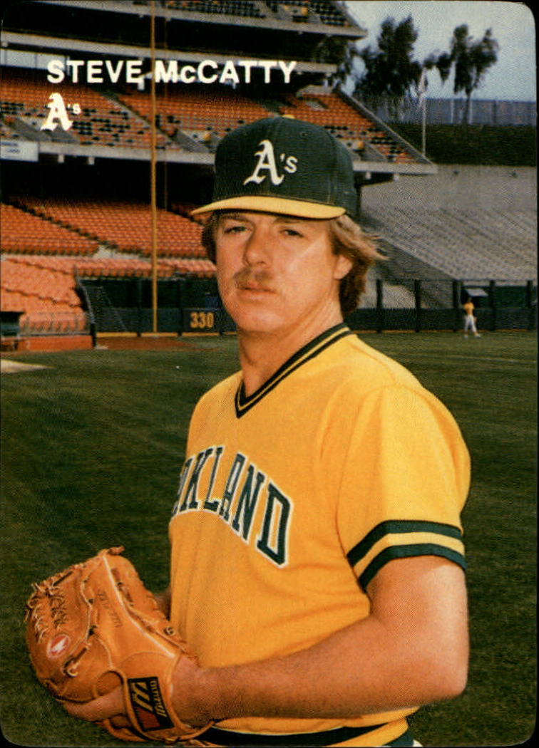 1984 A's Mother's #8 Steve McCatty