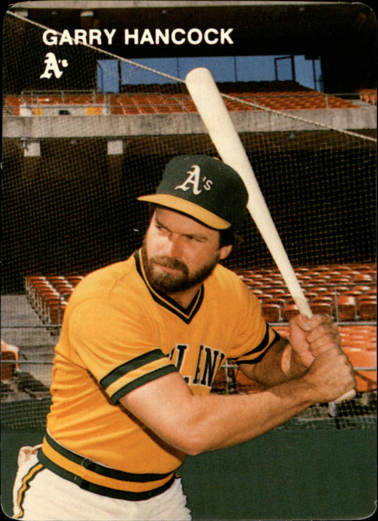 1984 A's Mother's #16 Garry Hancock