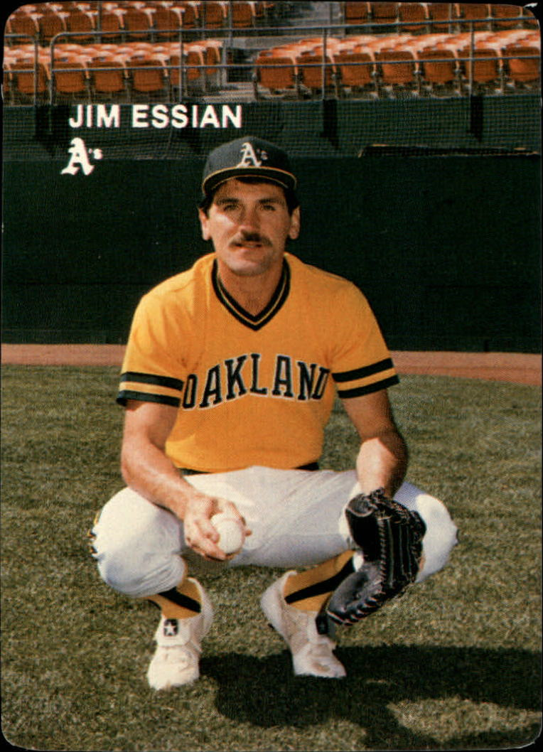 1984 A's Mother's #19 Jim Essian