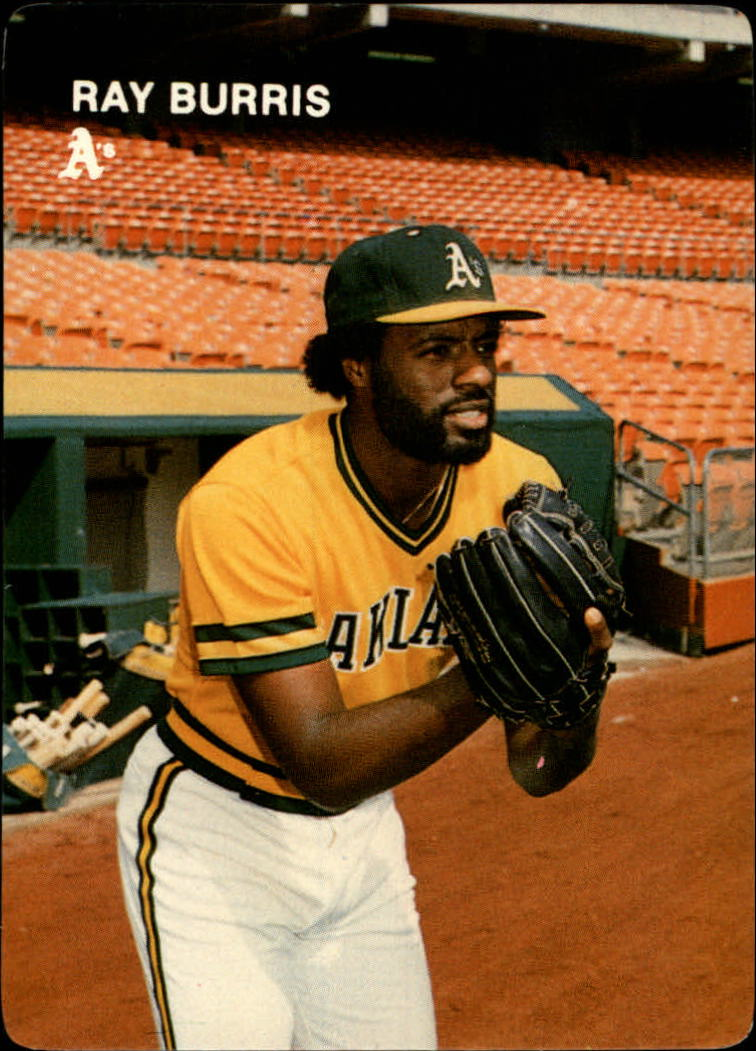 1984 A's Mother's #22 Ray Burris