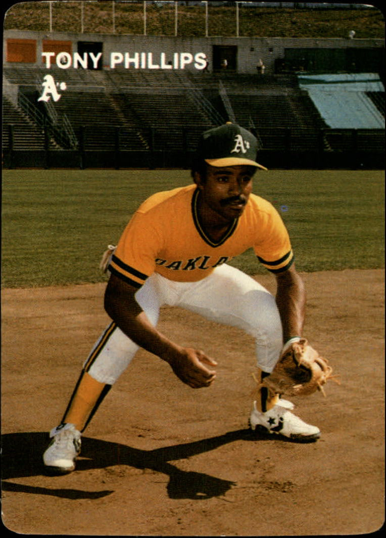 1984 A's Mother's #23 Tony Phillips