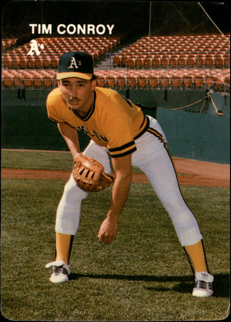 1984 A's Mother's #24 Tim Conroy