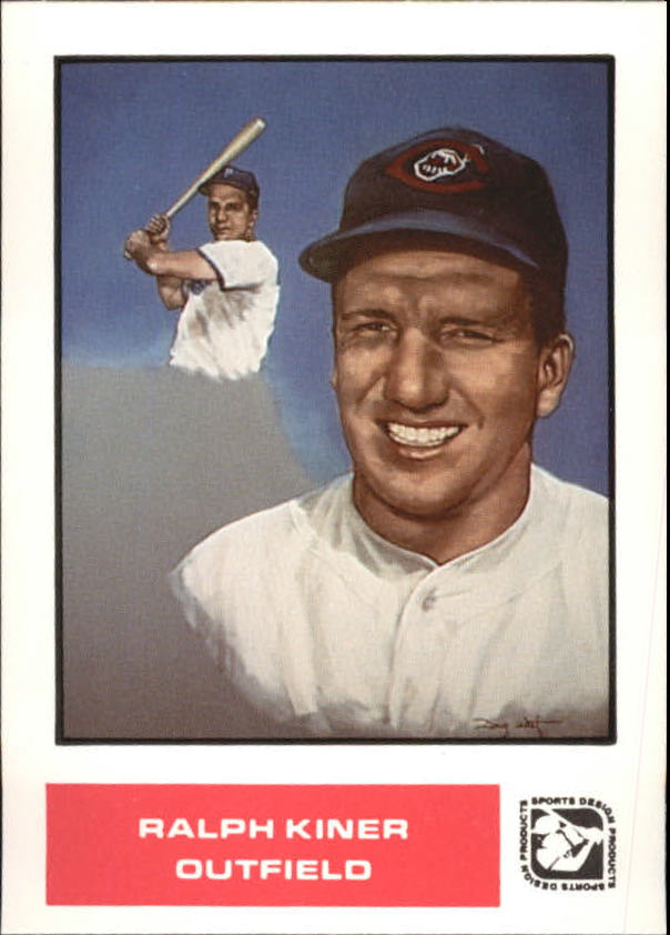 1984-85 Sports Design Products West #36 Ralph Kiner